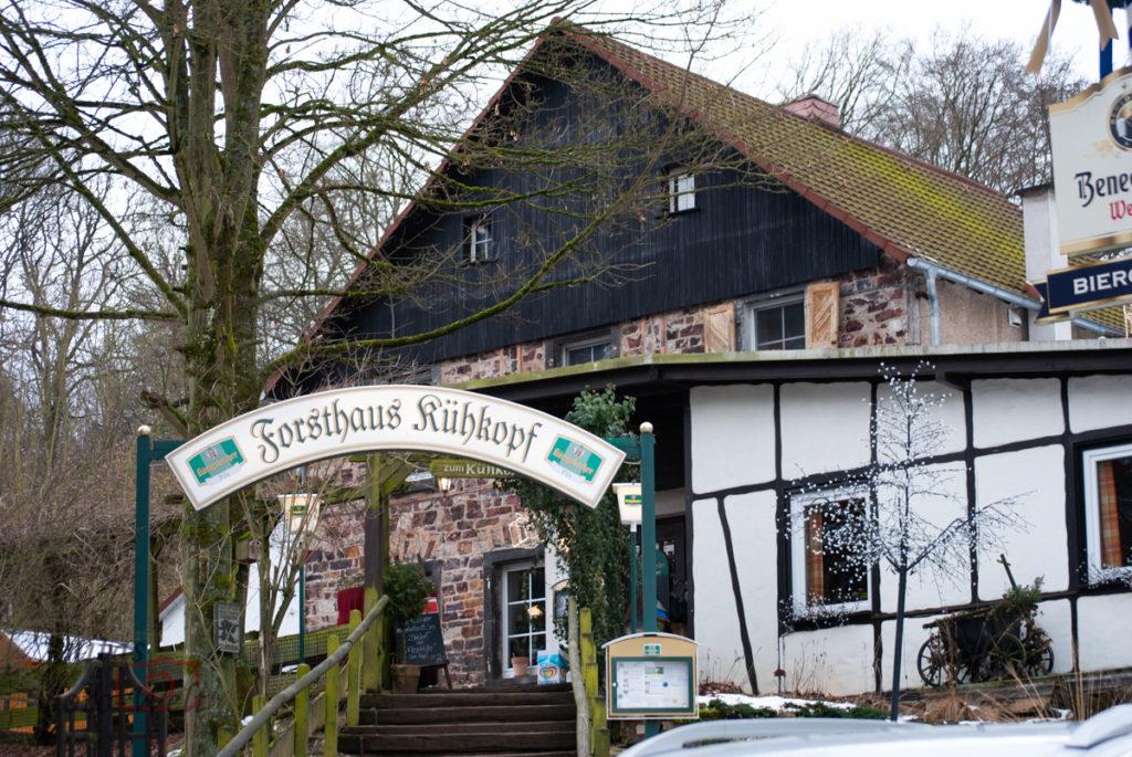 Forsthaus Kühkopf eine gute Adresse zum essen im Wald