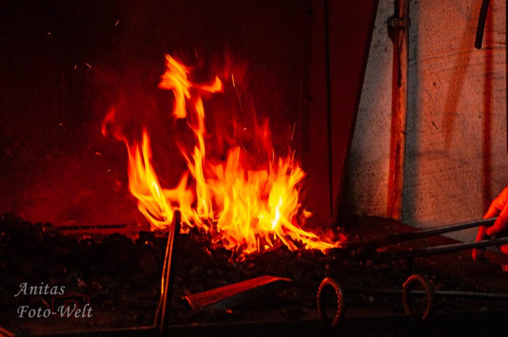 Das Feuer ist entfacht