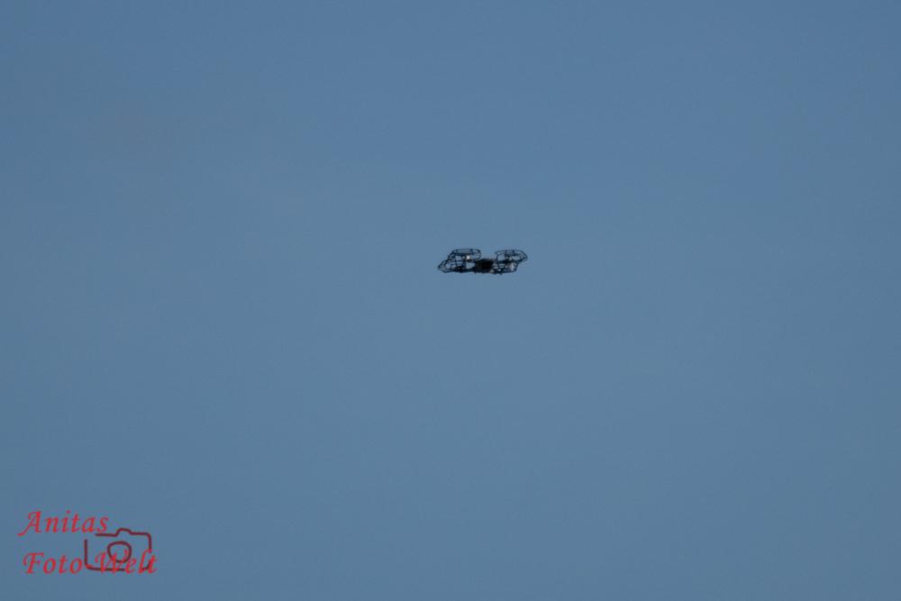 Drohne über uns